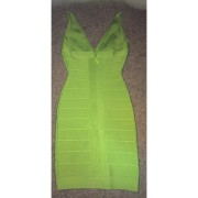 Lust4labels Herve Leger Classic Essentials Lauren Lime Green Dress XXS 8-900x900 (1)
