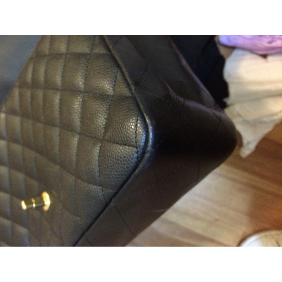 a169d7c46a19f0 lightbox · lightbox · lightbox · lightbox · lightbox · lightbox · lightbox.  prev. next. Chanel Classic Jumbo Black Caviar 18k GHW Lust4labels 17-900x900