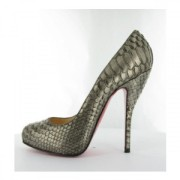 Christian Louboutin Feticha 120mm Bronze Metallic Exotic Python Leather Pumps Lust4labels 8-900x900