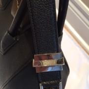 Givenchy Medium Antigona Black Sugar Goatskin Leather Bag Purse Lust4labels 1