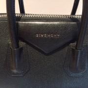 Givenchy Medium Antigona Black Sugar Goatskin Leather Bag Purse Lust4labels 11
