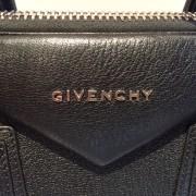 Givenchy Medium Antigona Black Sugar Goatskin Leather Bag Purse Lust4labels 12