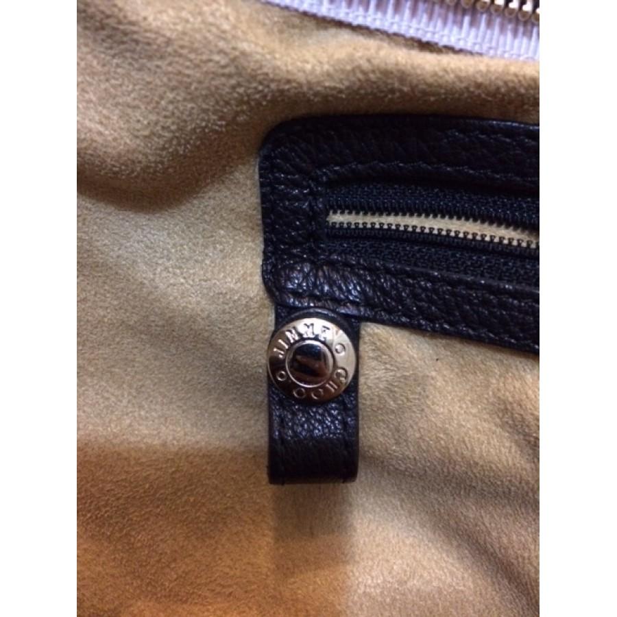 4a60451c28 Jimmy Choo Sky Studded Silver Hardware Black Leather Hobo Bag Purse  Lust4Labels 8-900x900