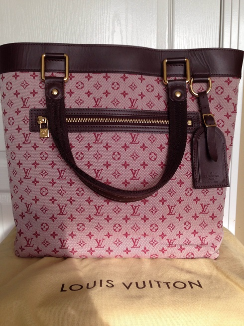 2292b0c5d171  1300 Louis Vuitton Mini Lin Monogram Red Cherise Lucille GM Shoulder Bag  Tote Purse. Return to Previous Page. Out. of stock. 2205541 lightbox ·  lightbox
