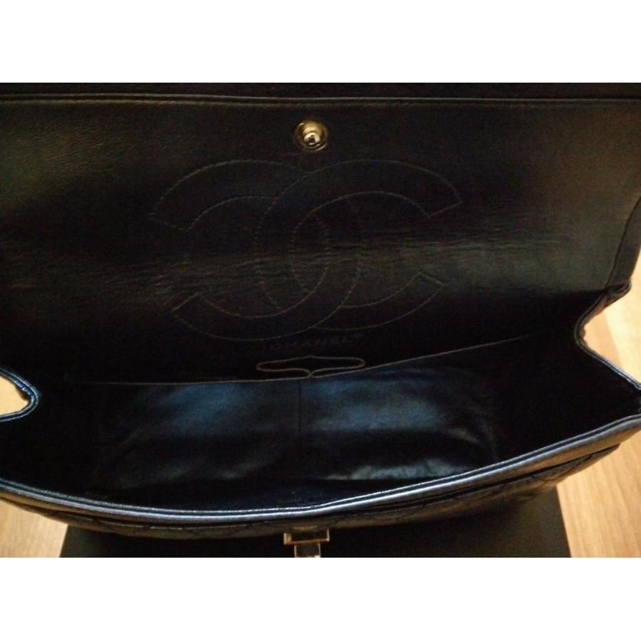 aed4400c701 Lust4labels Chanel Classic Reissue Metallic Blue Double Flap Classic  Shoulder Bag Purse SHW 1-900x900