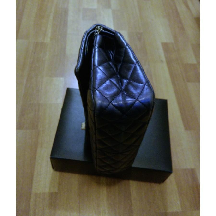 ec639af72ab Lust4labels Chanel Classic Reissue Metallic Blue Double Flap Classic  Shoulder Bag Purse SHW 10-900x900