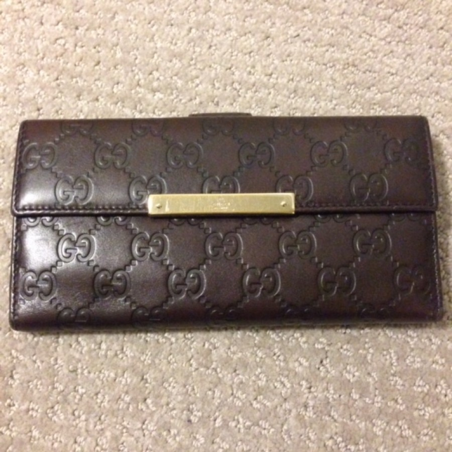 7dc127ba9c4 Lust4labels Gucci Guccissima Brown Leather Continental Wallet 14-900x900