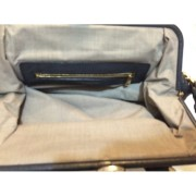 Marc Jacobs Classic Navy Blue Stam Gold Chain Bag Purse Lust4Labels 5-900x900
