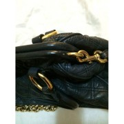 Marc Jacobs Classic Navy Blue Stam Gold Chain Bag Purse Lust4Labels 7-900x900