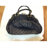 Marc Jacobs Classic Navy Blue Stam Gold Chain Bag Purse Lust4Labels 9-900x900