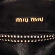 Miu Miu Large Bow Black Leather Bag GHW Lust4Labels 1-900x900