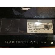 Prada Crystal Taffeta Jewel Bling Peeptoe Pewter Pumps Lust4Labels 3-900x900