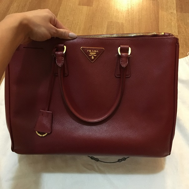 Prada Saffiano Lux Red Rubis Leather Tote Bag Purse BN 1782 Lust4Labels 1  lightbox · lightbox 7d135fc1dd170