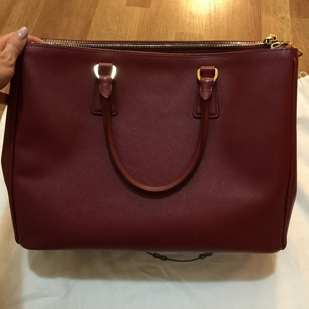 7673a88520ba Prada Saffiano Lux Red Rubis Leather Tote Bag Purse BN 1782 Lust4Labels 1  lightbox · lightbox · lightbox