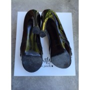 YSL Yves Saint Laurent Black Patent Leather Palais Peep Pumps Lust4Labels 6-900x900