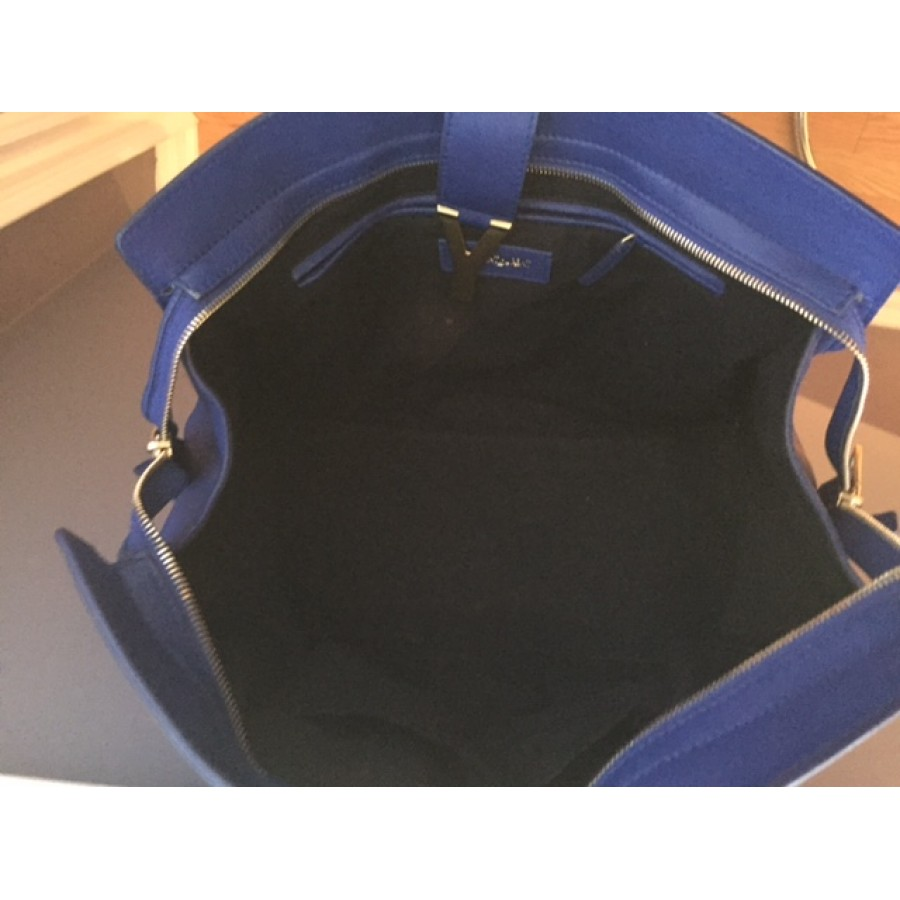 yves saint laurent blue purse