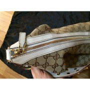 gucci monogram canvas logo white leather studded hobo bag purse 6-900x900