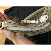 gucci monogram canvas logo white leather studded hobo bag purse 7-900x900
