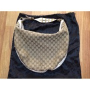 gucci monogram canvas logo white leather studded hobo bag purse-900x900