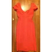 herve leger open shoulder pia coral dress 2a-900x900