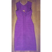 herve leger purple cross bust halter keyhole dress 3a-900x900
