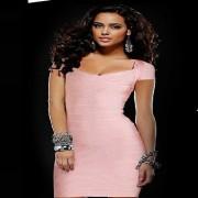 herve-leger-raquel-cap-sleeves-dress-bare-light-pink-xs-4