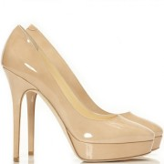 jimmy choo cosmic nude patent pumps