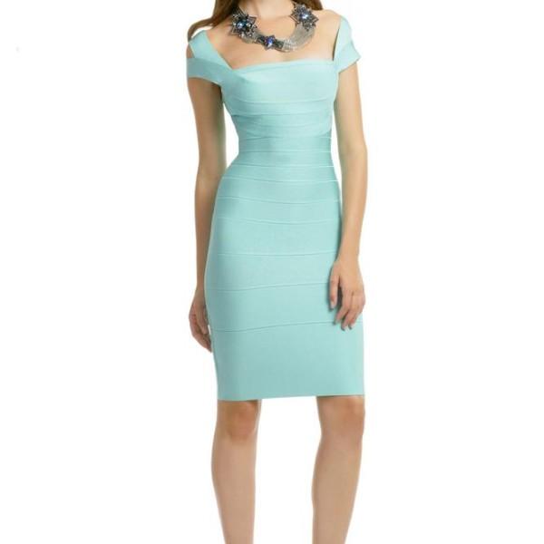 herve-leger-sea-foam-double-strap-dress-size-xs-1