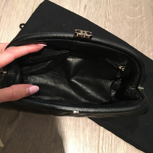 bcfc491725b751 lightbox · lightbox · lightbox · lightbox. prev. next. chanel timeless 2 ·  Chanel Classic Caviar Leather Quilted CC Logo Kisslock Timeless Black Clutch  Bag ...