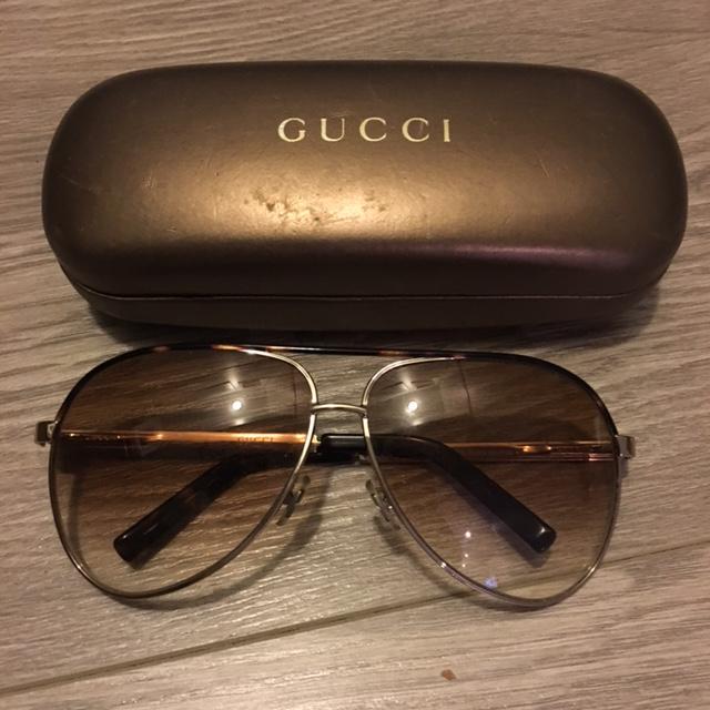 c82a10d343d  500 Gucci GG 1827S DLCK3 Brown Gradient Aviator Sunglasses ...