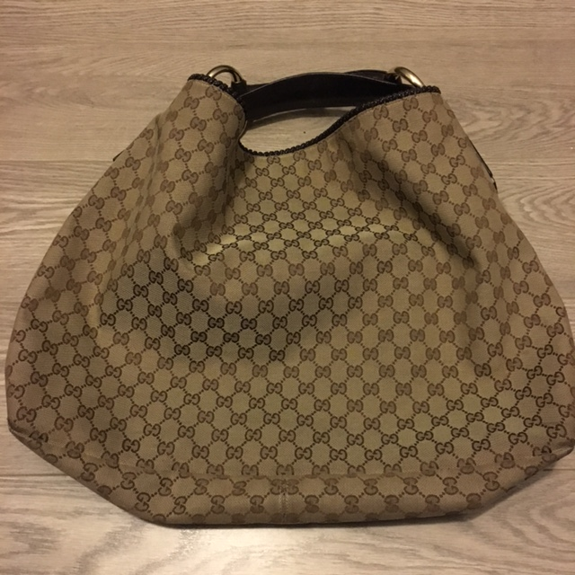 d2ba2b0a0396 Gucci Large Horsebit Hobo Bag Gg Monogram | Stanford Center for ...