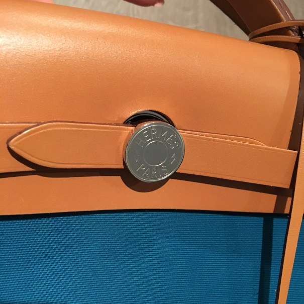how to detect fake hermes canvas bag