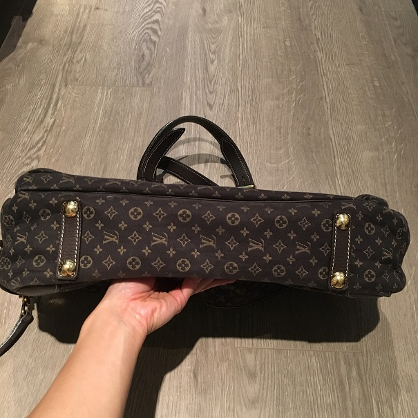 47b02ffc9172  2200 Louis Vuitton Monogram Canvas Mini Lin Dark Brown Large Diaper ...