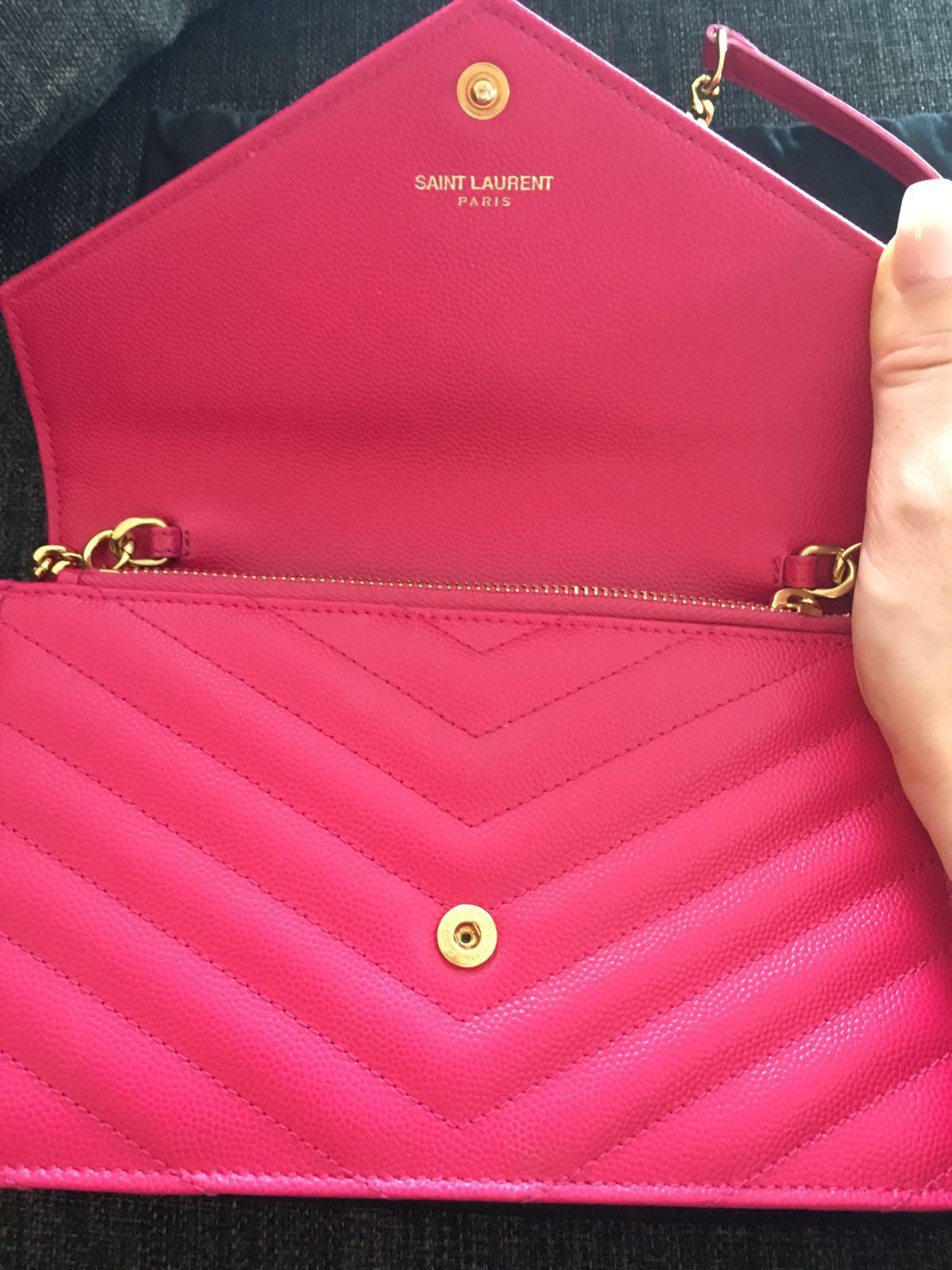 lightbox · lightbox · lightbox · lightbox · lightbox · lightbox. prev.  next. Yves Saint Laurent Paris YSL Pink Leather Wallet on Chain GHW  Shoulder Bag ... e4b7c23780c5b