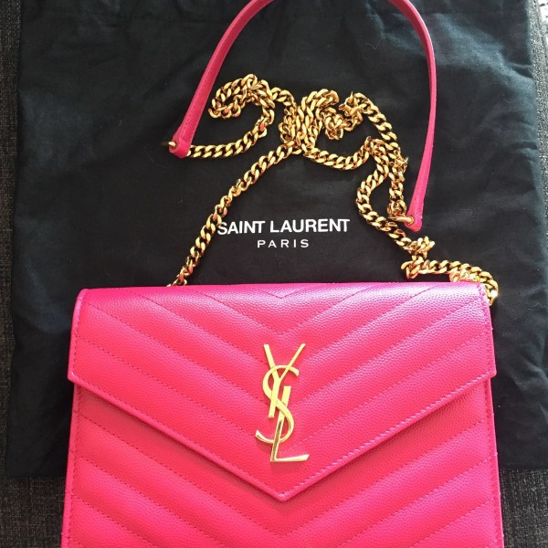 01372e7493d Pink Ysl Wallet On Chain | City of Kenmore, Washington