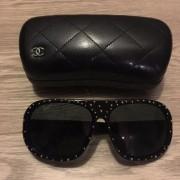 chanel-classic-black-plastic-studded-sunglasses-5135-lust4labels-1