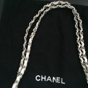 Chanel Classic White Caviar Quilted Leather Medium Flap Shoulder Bag Purse SHW Lust4Labels 18