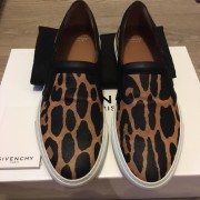 Givenchy Skate Basse Leopard Print Leather Slip On Sneakers Lust4Labels 2