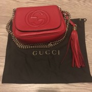 gucci-gg-mini-soho-disco-red-pebbled-leather-bag-chain-purse-lust4labels-1