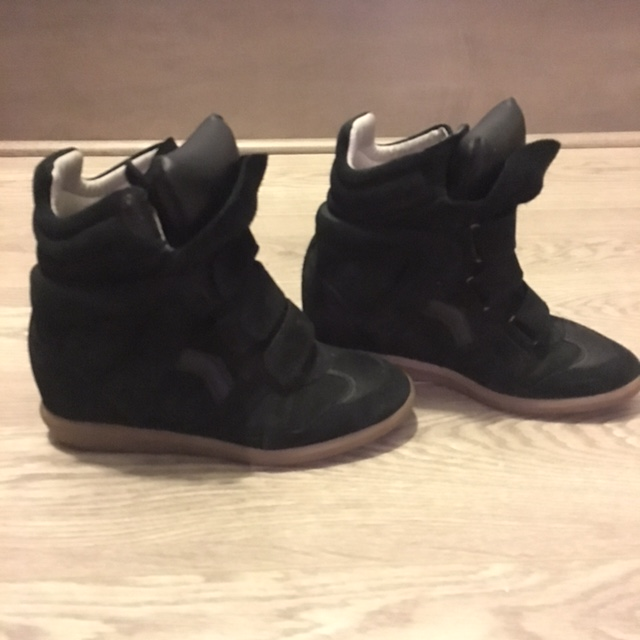 a2e5297b80fc ... Leather Suede Bekett Sneaker Wedge Shoes SZ 37 7. Return to Previous  Page. Sale. isabel-marant-blk lightbox · lightbox · lightbox · lightbox ·  lightbox