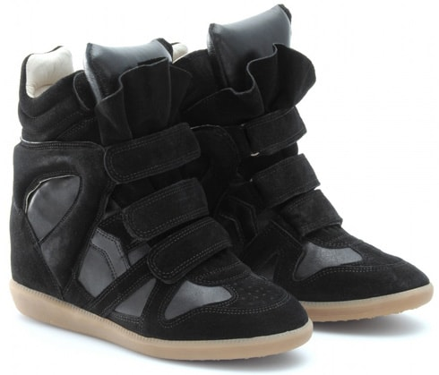 a794ddee18da ... Leather Suede Bekett Sneaker Wedge Shoes SZ 37 7. Return to Previous  Page. Sale. isabel-marant-blk