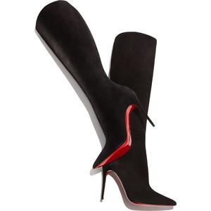 christian louboutin pigalle botta 120mm boots black