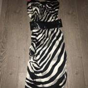 Dolce Gabbana DG Zebra Print Classic Bustier Dress SZ 40 XS Lust4Labels 1