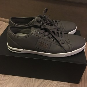 Dolce Gabbana Sport Grey Leather Sneaker Shoes Lust4Labels 3