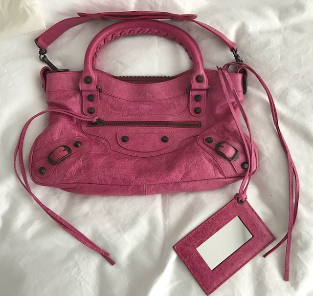 c7e6de4ca03 ... Classic Pink Fuschia Leather Mini City First Shoulder Bag Purse. Return  to Previous Page. Out. of stock. balenciaga first lightbox · lightbox ·  lightbox