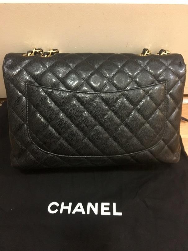 404da936a0a0 Chanel Classic Jumbo Black Caviar 18k GHW Lust4labels 17-900x900 lightbox ·  lightbox · lightbox