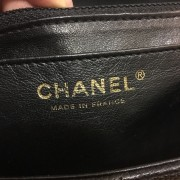 Chanel Classic Black Caviar Quilted Leather Jumbo Flap bag Purse GHW Lust4Labels 4