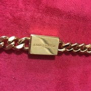 Yves Saint Laurent Paris YSL Red Leather WOC Wallet on Chain GHW Lust4Labels 4
