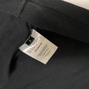 Balmain Black Flocked Medallion Velvet Oversized T Shirt S Lust4Labels 4