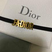 Christian Dior Jadior Antique Gold Brass Logo Black Ribbon Necklace Choker Lust4Labels 3